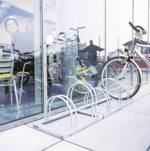 Fahrradständer 6 Plätze 2-seitig Moravia 169.15.566 Stahl Zink-Grau