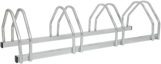 Fahrradständer 5 Plätze 2-seitig, kompakt Moravia 169.19.382 Stahl Zink-Grau