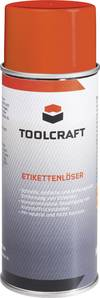 TOOLCRAFT Etikettenlöser 400 ml