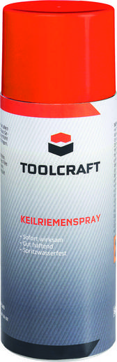 Keilriemenspray TOOLCRAFT AKRS.D400 400 ml