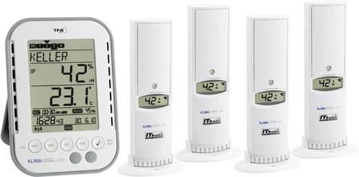 TFA KLIMALOGG PRO Luftfeuchtemessgerät (Hygrometer) 1 % rF 99 % rF TFA Raumklima Profi Set Kalibriert nach: Werksstandar