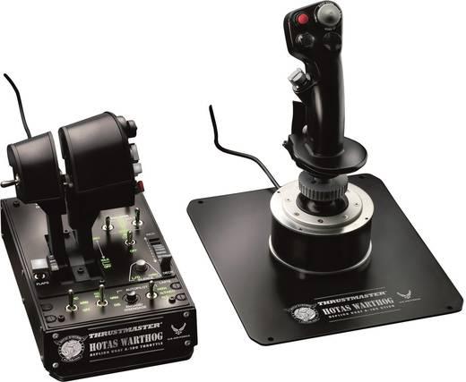 Flugsimulator-Joystick Thrustmaster Hotas Warthog USB PC Schwarz