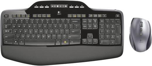 Logitech Wireless Desktop MK-710 Funk-Tastatur,- Maus-Set Schwarz