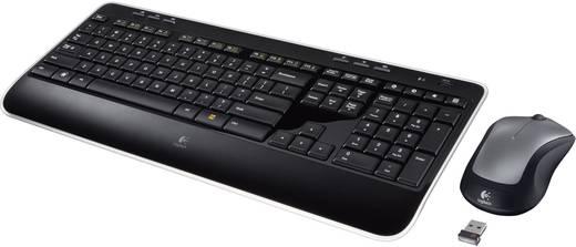 Funk-Tastatur,- Maus-Set Logitech MK520 Wireless Combo Schwarz