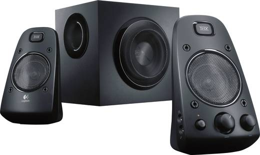 2.1 PC-Lautsprecher Kabelgebunden Logitech Z623 2.1 200 W Schwarz