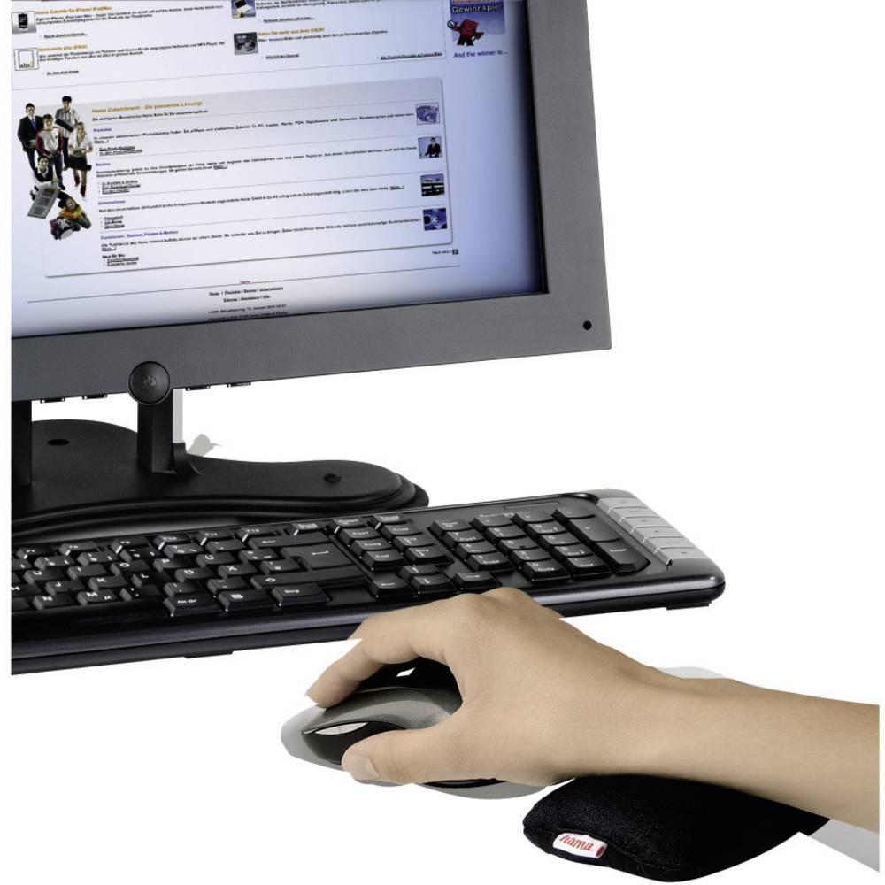 handballenauflage hama 50218 ergonomisch schwarz im conrad online shop 913938. Black Bedroom Furniture Sets. Home Design Ideas