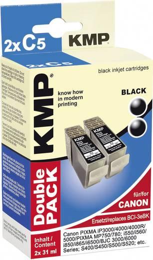 KMP Tintenpatronen 2er-Pack C5D Schwarz 0957,0021