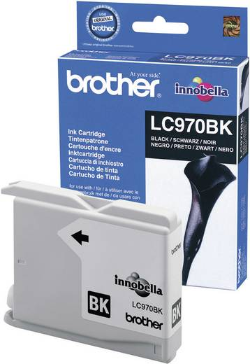 Brother Tinte LC-970BK Original Schwarz LC970BK