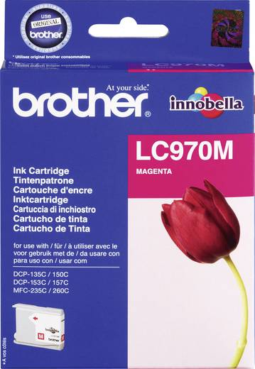 Brother Tintenpatrone LC-970 Magenta LC970M