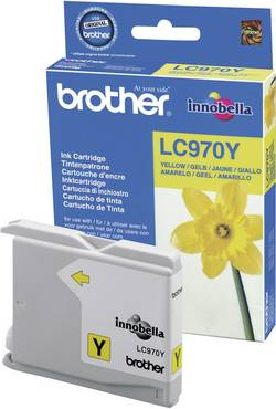 Cartouche d'encre Brother LC-970Y jaune