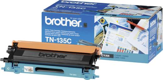 Brother Toner TN-135C TN135C Original Cyan 4000 Seiten