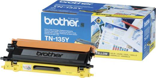 Brother Toner TN-135Y TN135Y Original Gelb 4000 Seiten