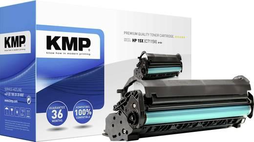 KMP Toner ersetzt HP 15X, C7115X Kompatibel Schwarz 5000 Seiten H-T21