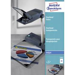 Image of Avery-Zweckform 2502 Overhead-Projektor-Folie DIN A4 Tintenstrahldrucker Transparent 50 St.