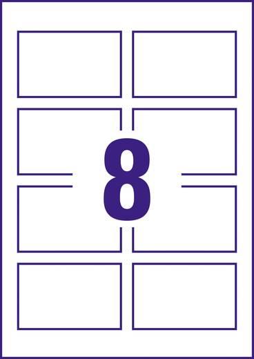 Avery-Zweckform Bedruckbare Visitenkarten, glatte Kanten C32015-10 85 x 54 mm Weiß 260 g/m² 80 St. Papierformat: DIN A4