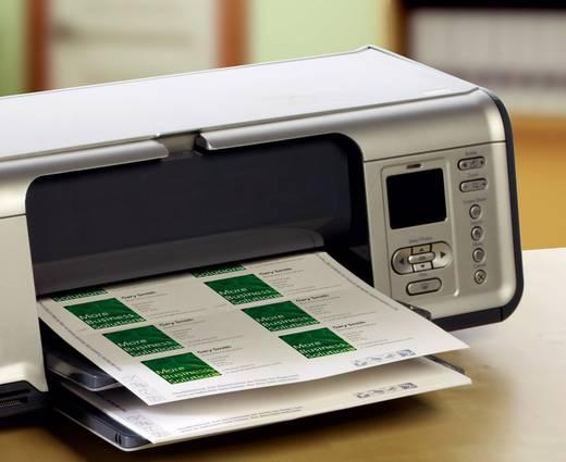 Avery-Zweckform Bedruckbare Visitenkarten, glatte Kanten C32011-10 85 x 54 mm Weiß 100 St. Papierformat: DIN A4