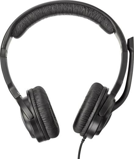 Gaming Headset 3.5 mm Klinke schnurgebunden, Stereo Trust GXT10 Over Ear Schwarz