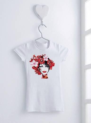 Tintenstrahl Textilfolie Avery-Zweckform My Design T-Shirt Folien MD1001 DIN A4 für helle Textilien, Optimiert für Tintenstrahl 5 Blatt