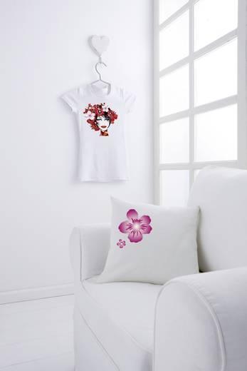 Tintenstrahl Textilfolie Avery-Zweckform MD1002 MD1002 DIN A4 für helle Textilien, Optimiert für Tintenstrahl 10 Blatt