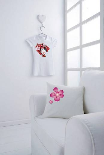 Tintenstrahl Textilfolie Avery-Zweckform My Design T-Shirt Folien MD1002 DIN A4 für helle Textilien, Optimiert für Tintenstrahl 10 Blatt