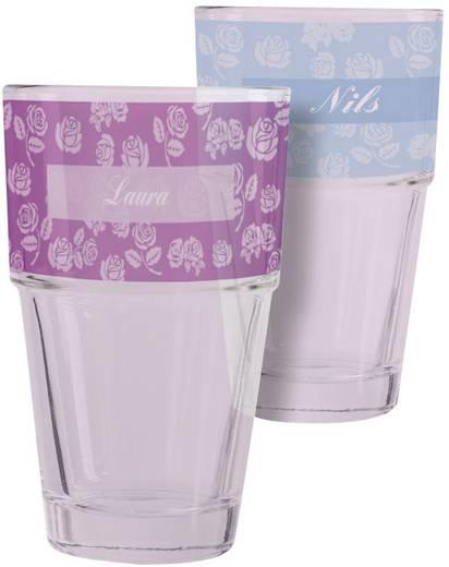 Tintenstrahl Folie selbstklebend Avery-Zweckform My Design Glas MD3002 DIN A4 Bedruckbar, Elektrostatisch, Optimiert für
