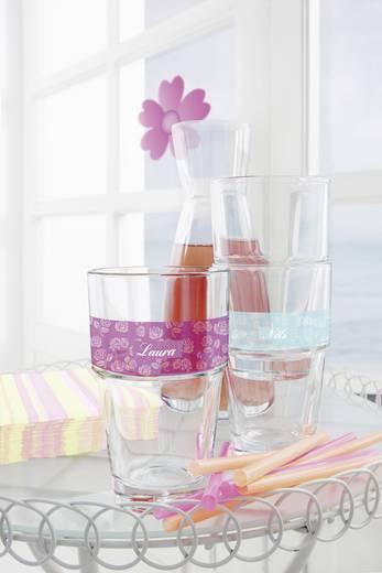Tintenstrahl Folie selbstklebend Avery-Zweckform My Design Glas-Dekofolien MD3002 DIN A4 Transparent Wiederablösbar 4 St