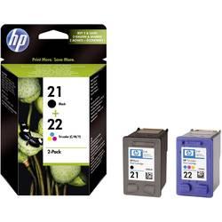 Sada náplní do tlačiarne HP 21, 22 SD367AE, čierna, zelenomodrá, purpurová, žltá