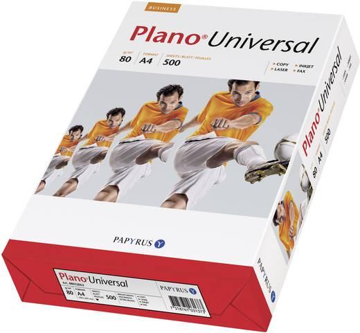 Universal Druckerpapier Papyrus Plano Universal 88026735 DIN A4 80 g/m² 500 Blatt Weiß