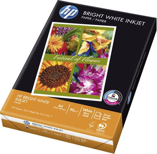 Tintenstrahl Druckerpapier HP Bright White Inkjet C1825A DIN A4 90 g/m² 500 Blatt Weiß