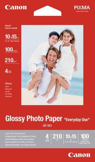 Fotopapier Canon Glossy Photo Paper GP-501 0775B003 10 x 15 cm 210 g/m² 100 Blatt Glänzend