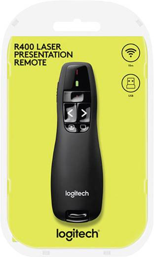 Bluetooth® Presenter inkl. Laserpointer Logitech R400