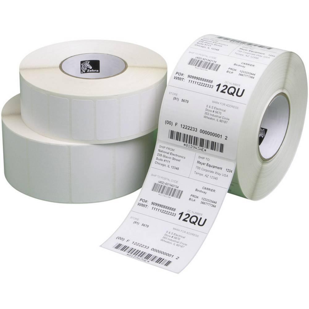 papier pour tiquettes zebra 51 x 25 mm pour imprimante thermo transfert 8 rouleaux de 2 580. Black Bedroom Furniture Sets. Home Design Ideas