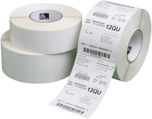 Zebra Etiketten (Rolle) 57 x 76 mm Thermodirekt Papier Weiß 11160 St. Permanent 3007209-T Universal-Etiketten