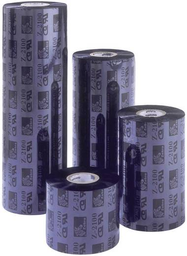 Zebra Thermo-Transfer-Rolle Etikettendrucker Original Schwarz 12 Rolle(n) ZipShip 2300 02300GS11007