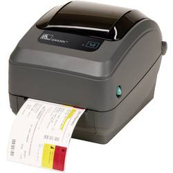 Tiskárna štítků termotransferová Zebra GX430T, Šířka etikety (max.): 110 mm, USB, RS-232, paralelní