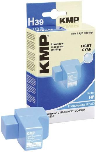 KMP Tintenpatrone H39 Photo Cyan 1700,0043