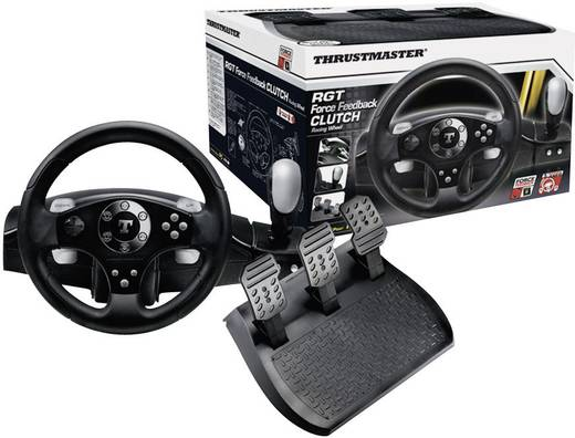 lenkrad thrustmaster rgt force feedback clutch edition usb. Black Bedroom Furniture Sets. Home Design Ideas