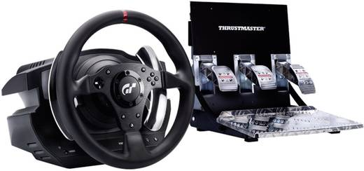 lenkrad mit pedalen thrustmaster t500 rs gt6 force. Black Bedroom Furniture Sets. Home Design Ideas
