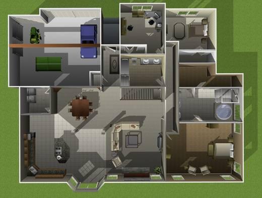 architekt 3d x5 innenarchitekt für mac | home & hobbies – ragopige, Innenarchitektur ideen