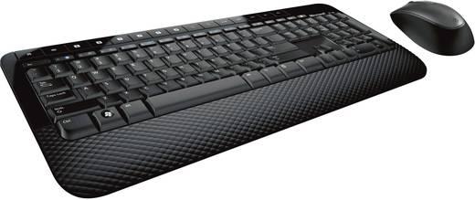 Microsoft Wireless Desktop 2000 Funk-Tastatur,- Maus-Set Schwarz