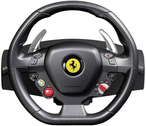 thrustmaster ferrari 458 italia racing wheel lenkrad usb. Black Bedroom Furniture Sets. Home Design Ideas
