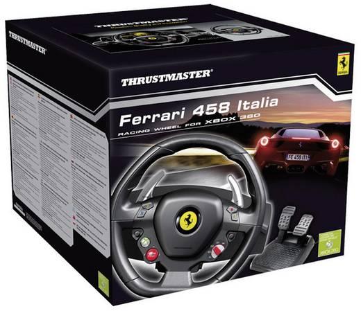 lenkrad thrustmaster ferrari 458 italia racing wheel usb. Black Bedroom Furniture Sets. Home Design Ideas