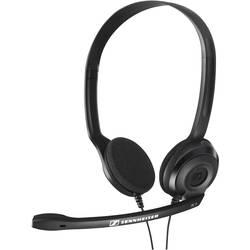 Headset k PC Sennheiser PC 3 Chat na ušiach jack 3,5 mm káblový, stereo čierna