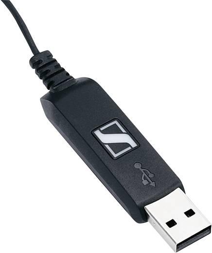 PC-Headset USB schnurgebunden Sennheiser PC 7 USB On Ear Schwarz