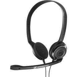 Headset k PC Sennheiser PC 8 USB na ušiach s USB stereo, káblový čierna