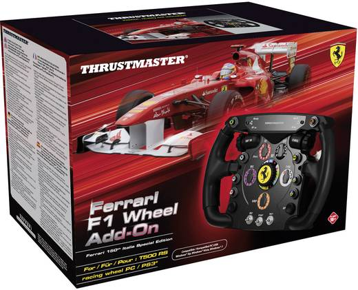 Thrustmaster Ferrari® F1 Wheel Add-On T500 RS Lenkrad USB PC, PlayStation 3 Schwarz