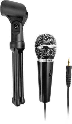 PC-Mikrofon Trust Microphones Starzz Kabelgebunden inkl. Klammer, Standfuß