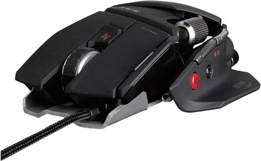 Mad Catz R.A.T.7 Gaming Maus Schwarz