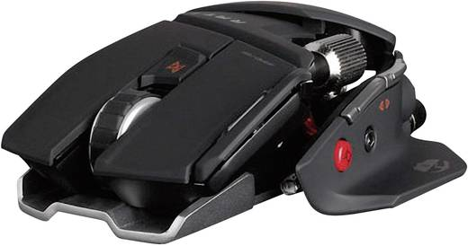 Mad Catz R.A.T.9 Wireless Gaming Maus Schwarz