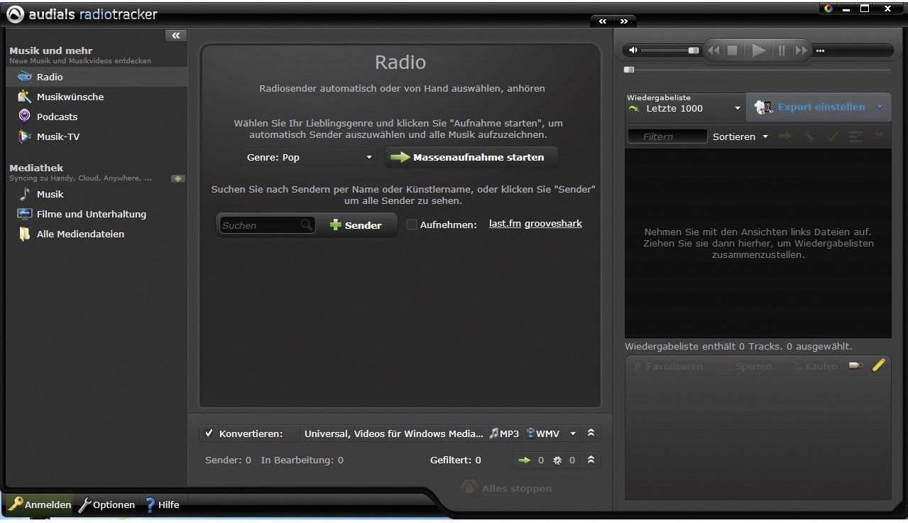 audials radiotracker 9